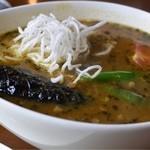 18118972 - 野菜とキーマのスープカリー