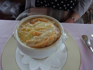 ポン・ヌフ - 350円プラスのオニオンスープ
