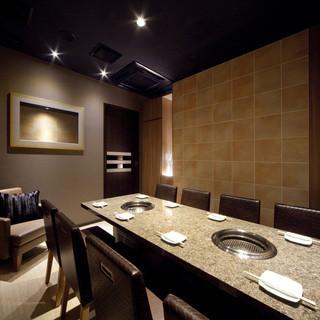 ホテルのスイートルームのような雰囲気のお部屋もございます