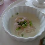ポン・ヌフ - 前菜の海老のクリーム和え