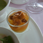 ポン・ヌフ - 前菜のうにがのった小品