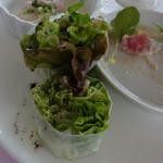 ポン・ヌフ - 前菜の海老が入った生春巻き