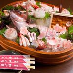 かしま - 料理写真:鮮度の良さが違います! 『刺身の盛り合わせ』
