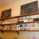パレット食堂 - (2013.3)可愛い店内ほっこりーにゃ(*Φ∀Φ*)人♡夜だとまた違ったほっこりーにゃになりそぉぉ♪