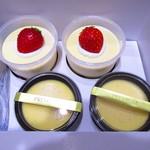 パステルデザート - 料理写真:いちごティラミスとなめらかプリン極