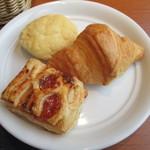 ブッフェブルーム - パンは5種類有りました