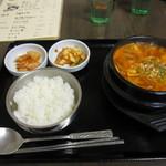 すーぷ房 くだら - 2013/3/31豆腐チゲ