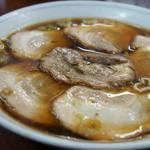 真砂そば - 3)チャーシュー麺(800円)