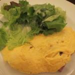 cafe chou chou - ジャガイモのオムレツ