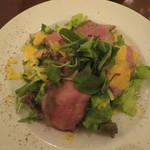 cafe chou chou - ローストビーフのサラダ