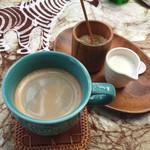 Pancafe ao - ランチセットにつくドリンク(豆蔵さんのコーヒー)