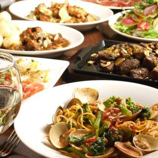 【各種宴会に◎】人気料理をまとめて味わえるコースがお得◎
