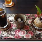 カフェ 七色の風 - アイスコーヒー