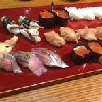 みちや寿司 沖村家 - いくらのプチプチ感が半端ない!