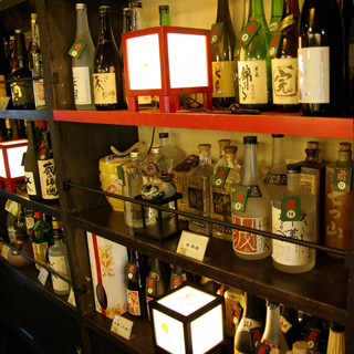 日本酒各種取り揃えております。。飲みたいお酒の持ち込みも可能