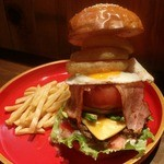 THE GREATEST BEARSBURGER (w/French fries) - ザ・グレーテスト ベアーズバーガー -