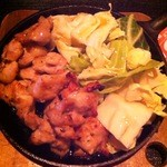 ゆるりと菜 村さ来 - 鶏の柚子胡椒焼き