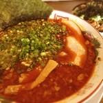 ばんから - 台湾麺とネギ豚丼(๑´ڡ`๑) 辛さNO.1の札に惹かれてしまった(๑¯◡¯๑)