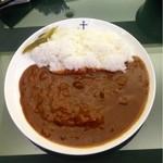 赤煉瓦カフェ ジャズ - 海軍カレー 700円(2013.03.現在)