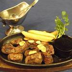 うすけぼー - 牛フィレおつまみステーキ