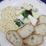 うすけぼー - ナチュラルチーズ盛り合せ