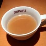 DEPART BR - 最初はコンソメスープ