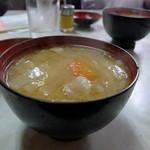 レストラン あかね - 豚汁(別売150円)