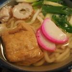 上田そば店 - 料理写真:かやくうどん