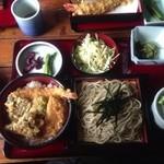 18143445 - 天丼セット