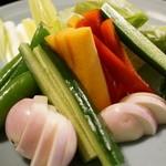 18143618 - 野菜盛り合わせ(大)
