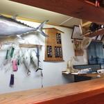 桂城 - 店内風景です。