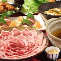 花みずき - 糸島雷山イデア豚しゃぶしゃぶコース