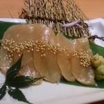 Uotami - しっとり鶏生ハムのお造り
