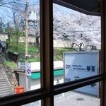 ぽちたまカフェ - 2Fからの景色