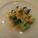 アトリエ・オキ - アスパラの春野菜・・・・