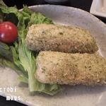 つる来 - 凍豆腐のフライ