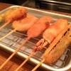 串カツ 油屋 - 料理写真:おまかせ五種盛り