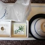 オオズプラザホテル - 料理写真:せん茶です