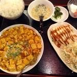 台湾料理 鴻翔 - 料理写真:麻婆定食880円