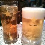 白頭山 - ビールはサッポロです
