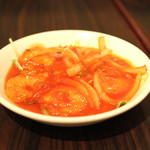 飯楽 - 海老のチリソース