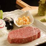 鉄板ダイニング 法貴 - 料理写真:神戸牛と活アワビと活オマール海老のコース12,600円