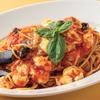 トラットリア ポルケッタ - 料理写真:スパゲッティ 揚げ茄子とモッツァレラチーズのトマトソース