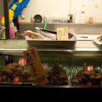 市場直結 柳橋ビアガーデン - こちらは食べ放題に含まれない金券あるいは現金メニュー