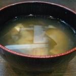 18161601 - セットの味噌汁