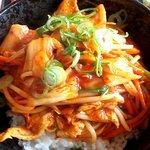 炙り家 - 豚キムチ丼(アップ)