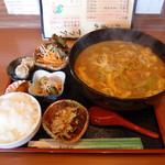 かもや - 料理写真:特製カレーうどんランチ・特盛り ¥1050