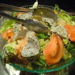 大栄 - ゴマ豆腐サラダ800円♪冷たくて美味しいぃ♪