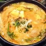 チェゴヤ - 韓式ハプサン定食:チゲ