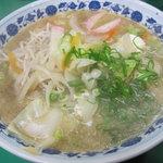 ラーメン青葉 - チャンポン 650円